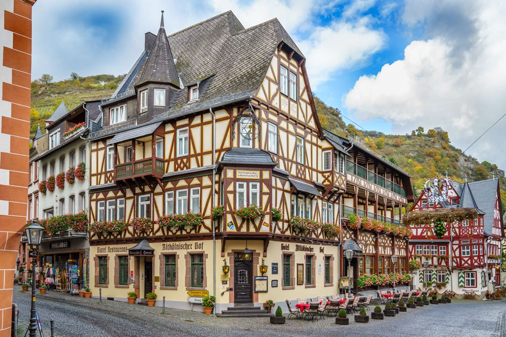 Hotel Altk 246 Lnischer Hof Bl 252 Cherstr 2 55422 Bacharach